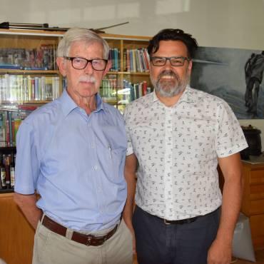 Seniorenhock im Mai mit Alfons Loacker