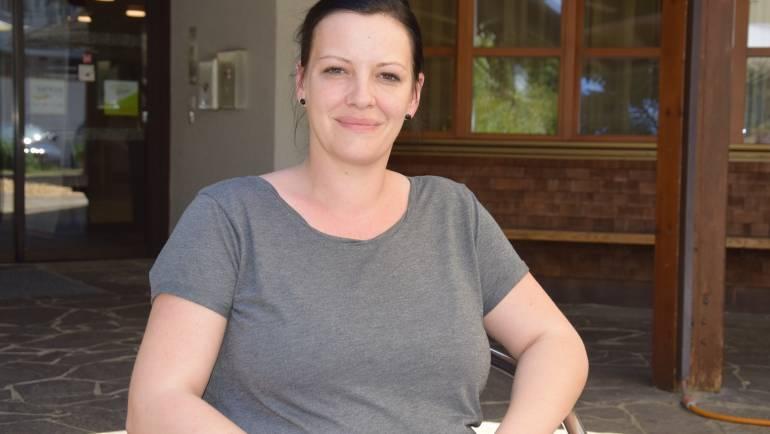 Claudia Sagmeister im Mitarbeiterportrait