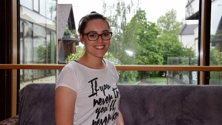 Christina Gebhart im Mitarbeiterportrait