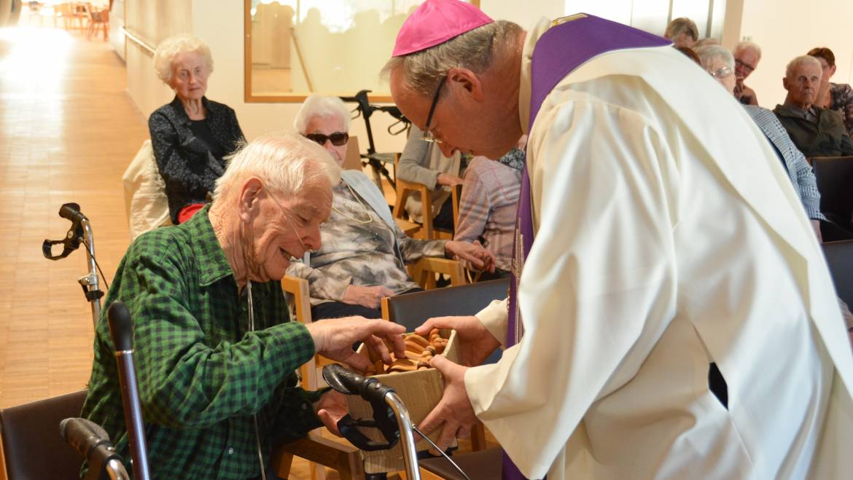 Bischofsvisitation im Haus Koblach