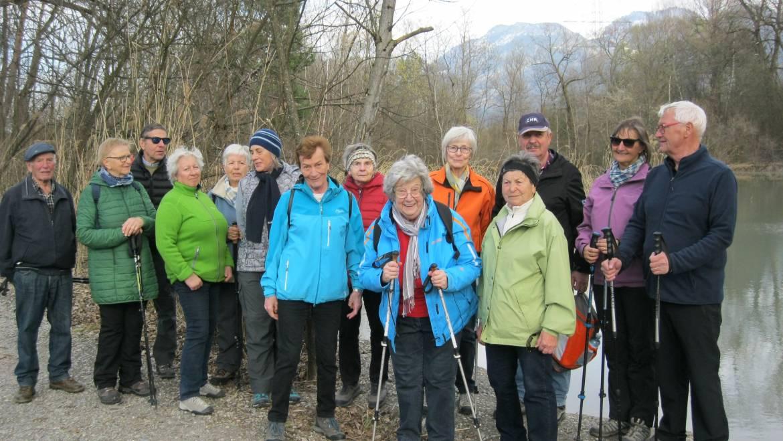 Zämma leaba-Wanderung zum Alten Rhein