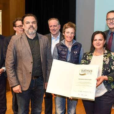 Sozialdienste Götzis erneut mit SALVUS GOLD ausgezeichnet