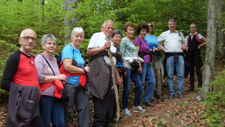 Zämma leaba-Wanderung im Plattenwald