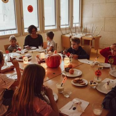 Schaurig-schöne Herbstferien in der Schülerbetreuung