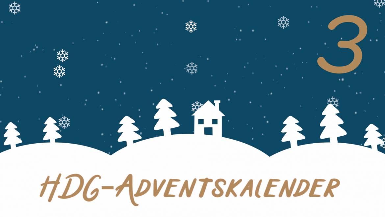 HDG-Adventskalender – Tür 3: Sandra dekoriert das Haus Götzis