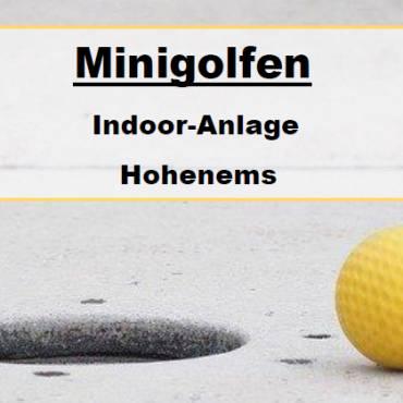Ankündigung OJA: Indoor-Minigolfen
