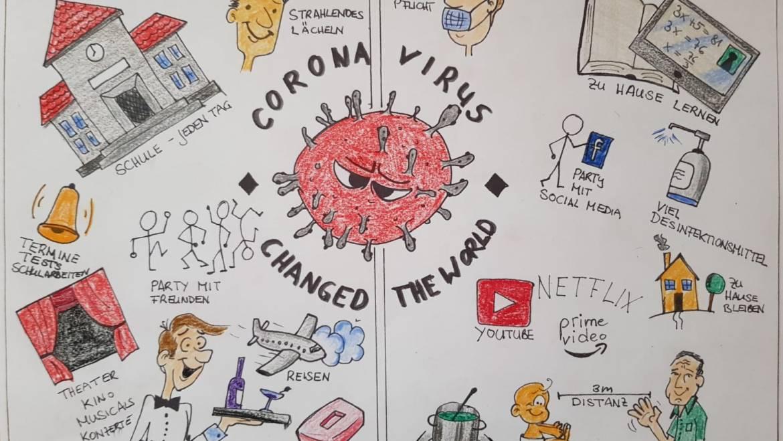 """Corona: Online-Wettbewerb """"Veränderte Lebenswelten von Jugendlichen aufgrund der Corona Krise"""""""