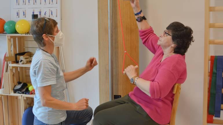 Physiotherapie auch in Corona-Zeiten